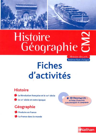 HIST/GEO CM2 FICHIER RESSOURCE