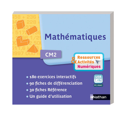 MATHS CM2 CLE USB - RESSOURCE