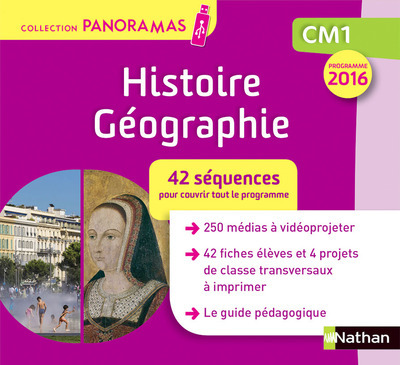 RAN PANORAMA - HISTOIRE GEOGRAPHIE - CLE - CM1