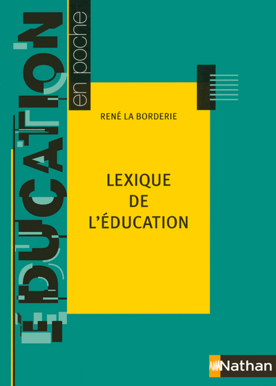 LEXIQUE DE L EDUCATION 2005
