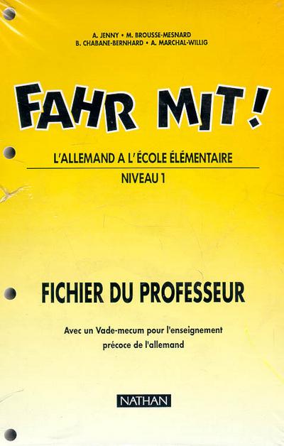 FAHR MIT CM-MAITRE
