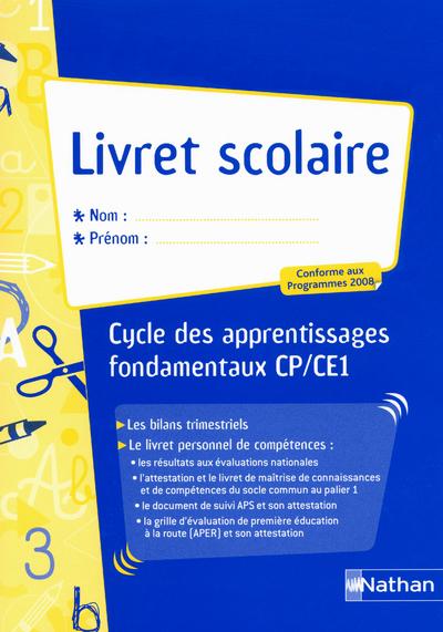 LIVRET SCOLAIRE CYCLE 2