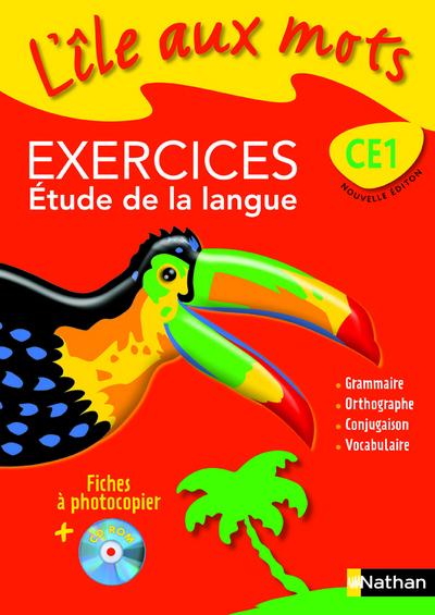 ILE AUX MOTS FICH EX+CDR CE1