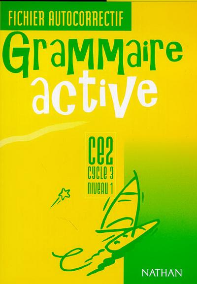 GRAMMAIRE ACTIVE CE2 FIC AUTOC