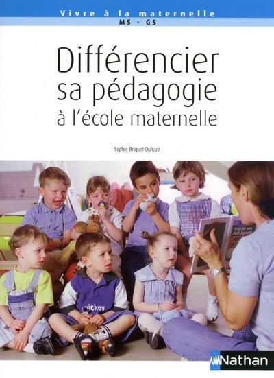 DIFFERENCIER SA PEDAGOGIE ECOL