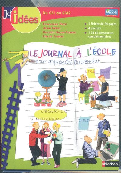 JOURNAL A L'ECOLE CE1 AU CM2 +