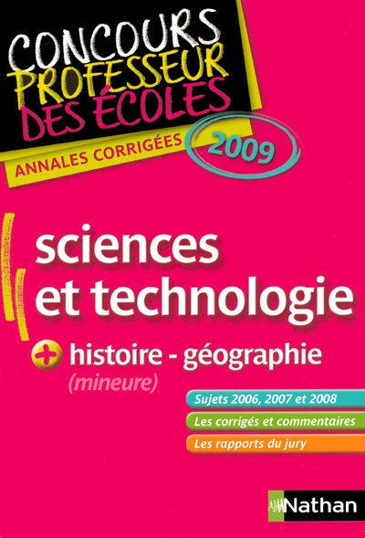 ANNALES CORRIGEES CRPE SCIENCE