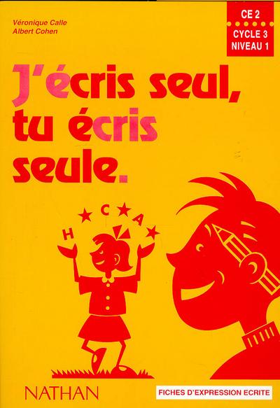 J ECRIS SEUL CE2 ELEVE