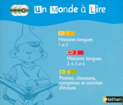 MONDE A LIRE 3 CD AUDIO