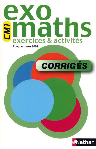 EXOMATHS CM1 CORRIGES MAITRE