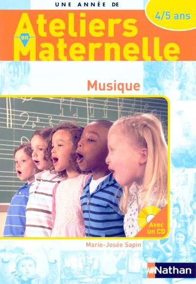 MUSIQUE 4/5 ANS - AVEC CD