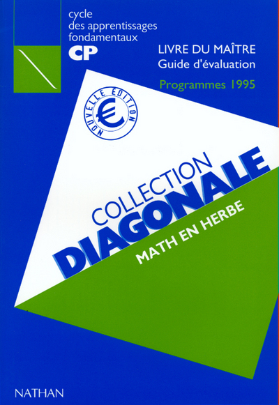DIAGONALE MATHS CP MAITRE EURO