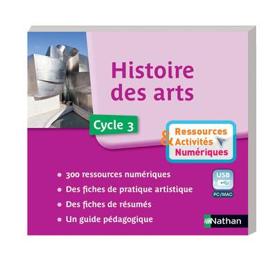 CLE USB-HISTOIRE DES ARTS-C3-R