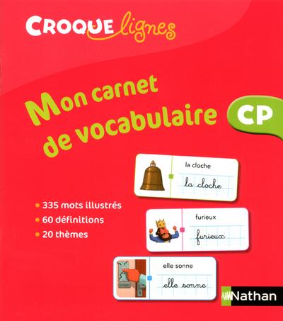 CROQUE-LIGNES - CARNET VOCABUL