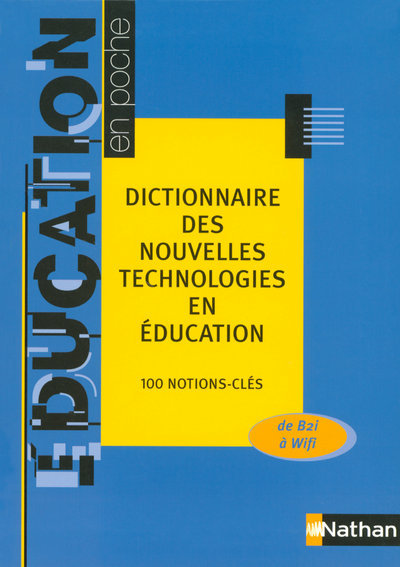 DICT NOUVELLES TECHN EDUCATION