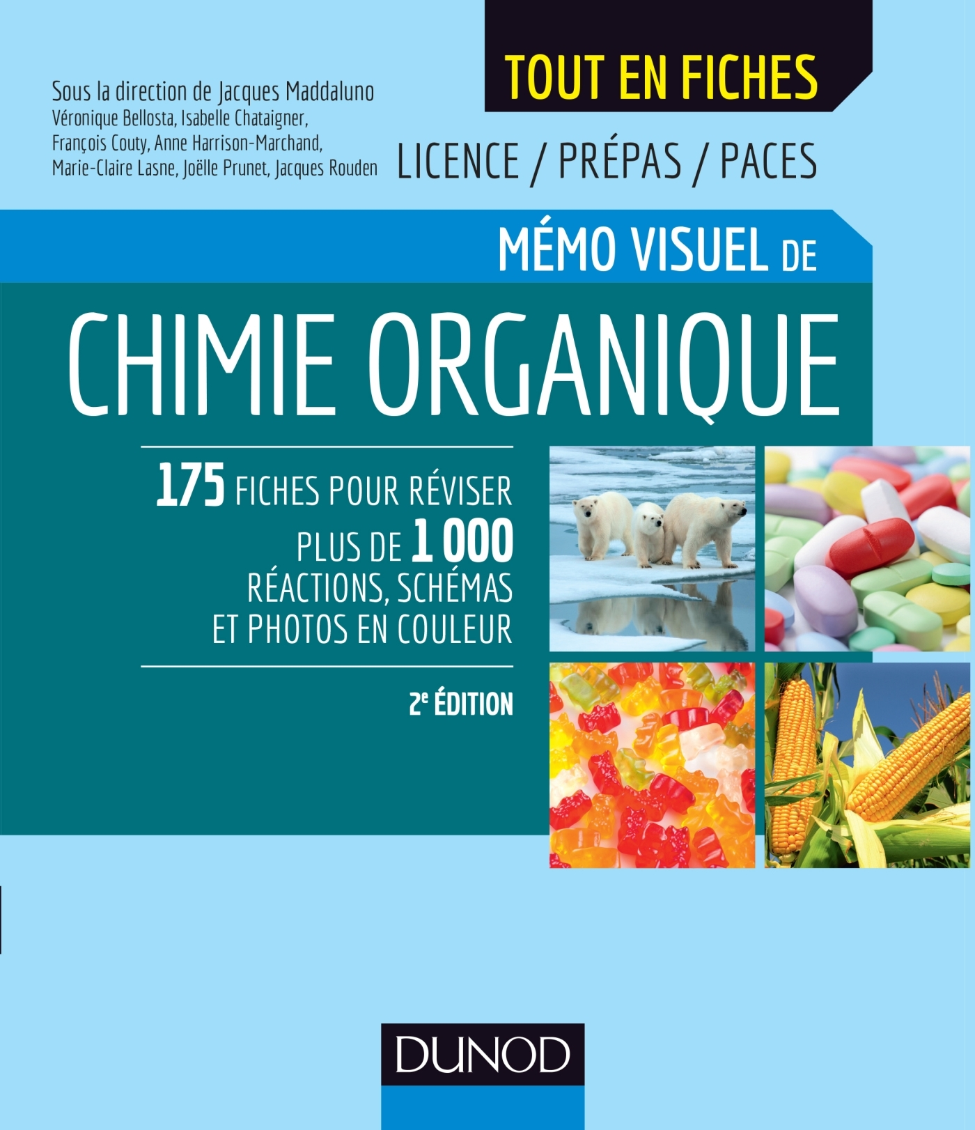 MEMO VISUEL DE CHIMIE ORGANIQUE - 2E ED.