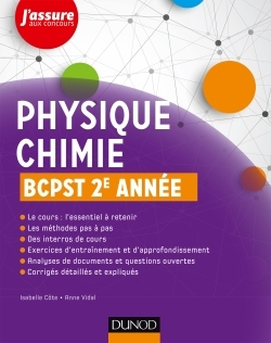 PHYSIQUE-CHIMIE BCPST 2E ANNEE