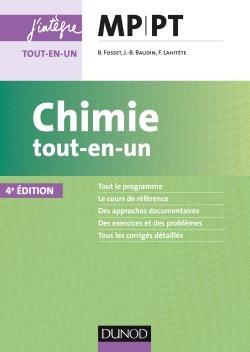 CHIMIE TOUT-EN-UN MP-PT - 4E ED