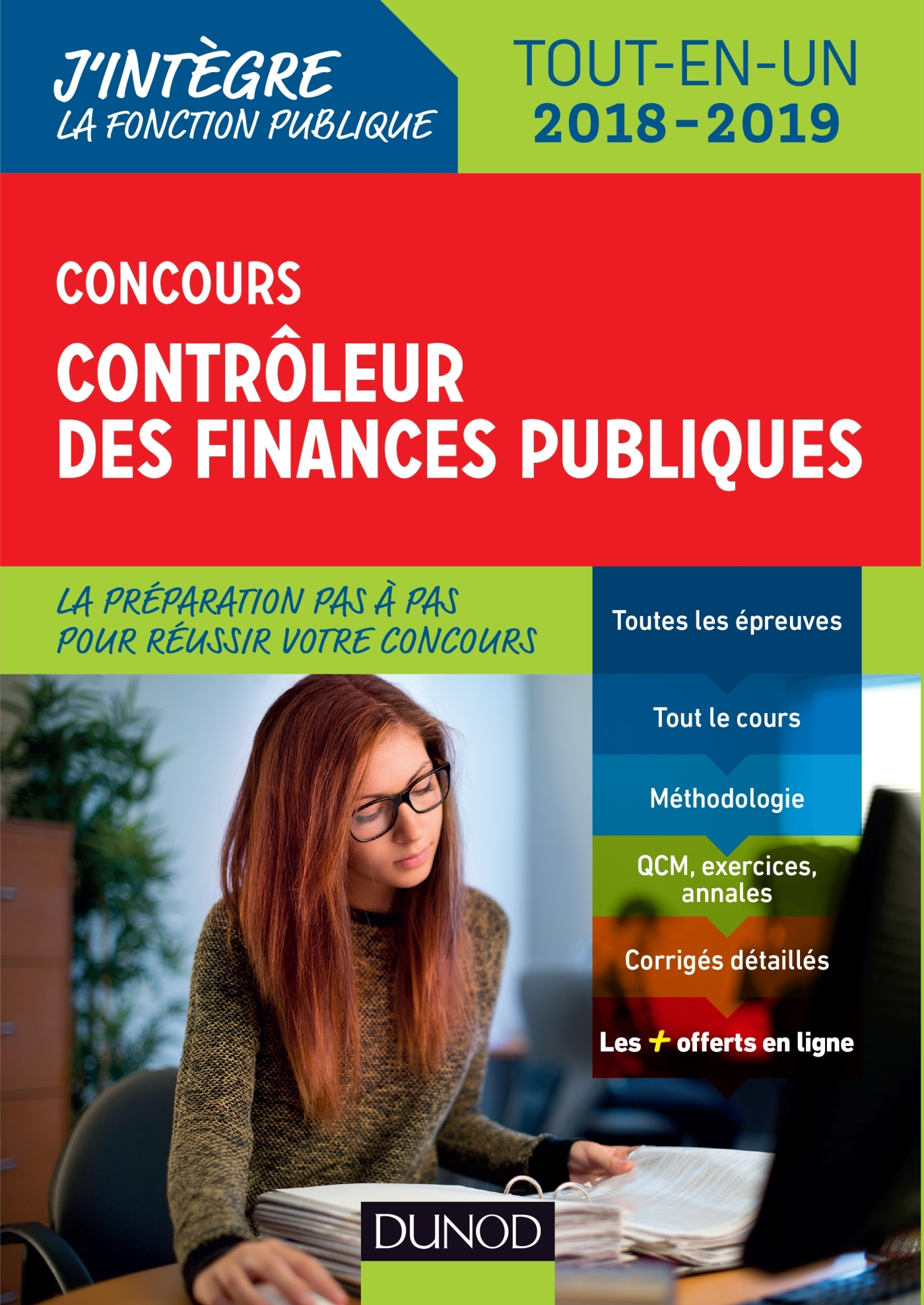 CONCOURS CONTROLEUR DES FINANCES PUBLIQUES - TOUT-EN-UN - 2018-2019