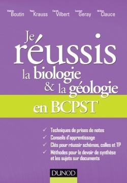 JE REUSSIS LA BIOLOGIE & LA GEOLOGIE EN BCPST