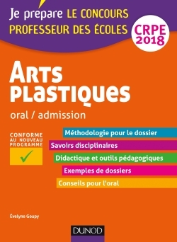 ARTS PLASTIQUES - ORAL / ADMISSION - CRPE 2018