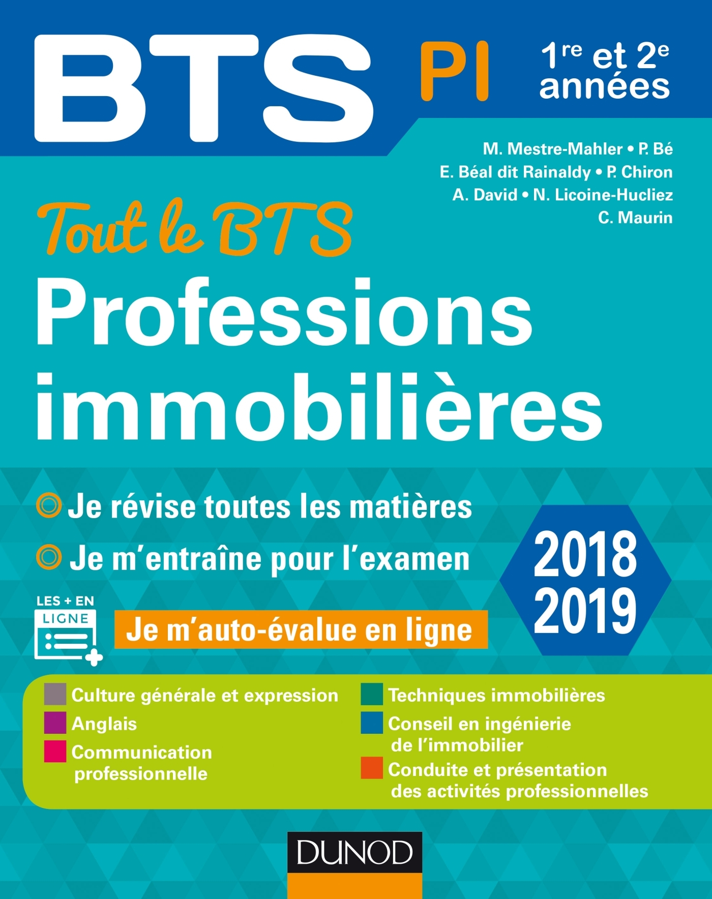 TOUT LE BTS PROFESSIONS IMMOBILIERES - 2E ED. - 1RE ET 2E ANNEE