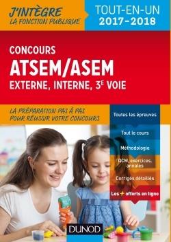 CONCOURS ATSEM/ASEM - INTERNE ET 3E VOIE, VILLE DE PARIS - 2017-2018