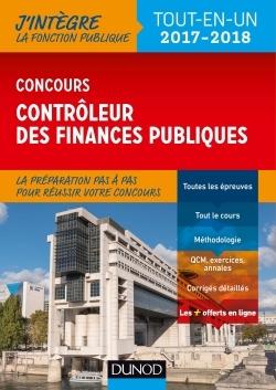 CONCOURS CONTROLEUR DES FINANCES PUBLIQUES - TOUT-EN-UN - 2017-2018