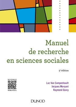 MANUEL DE RECHERCHE EN SCIENCES SOCIALES - 5E ED.
