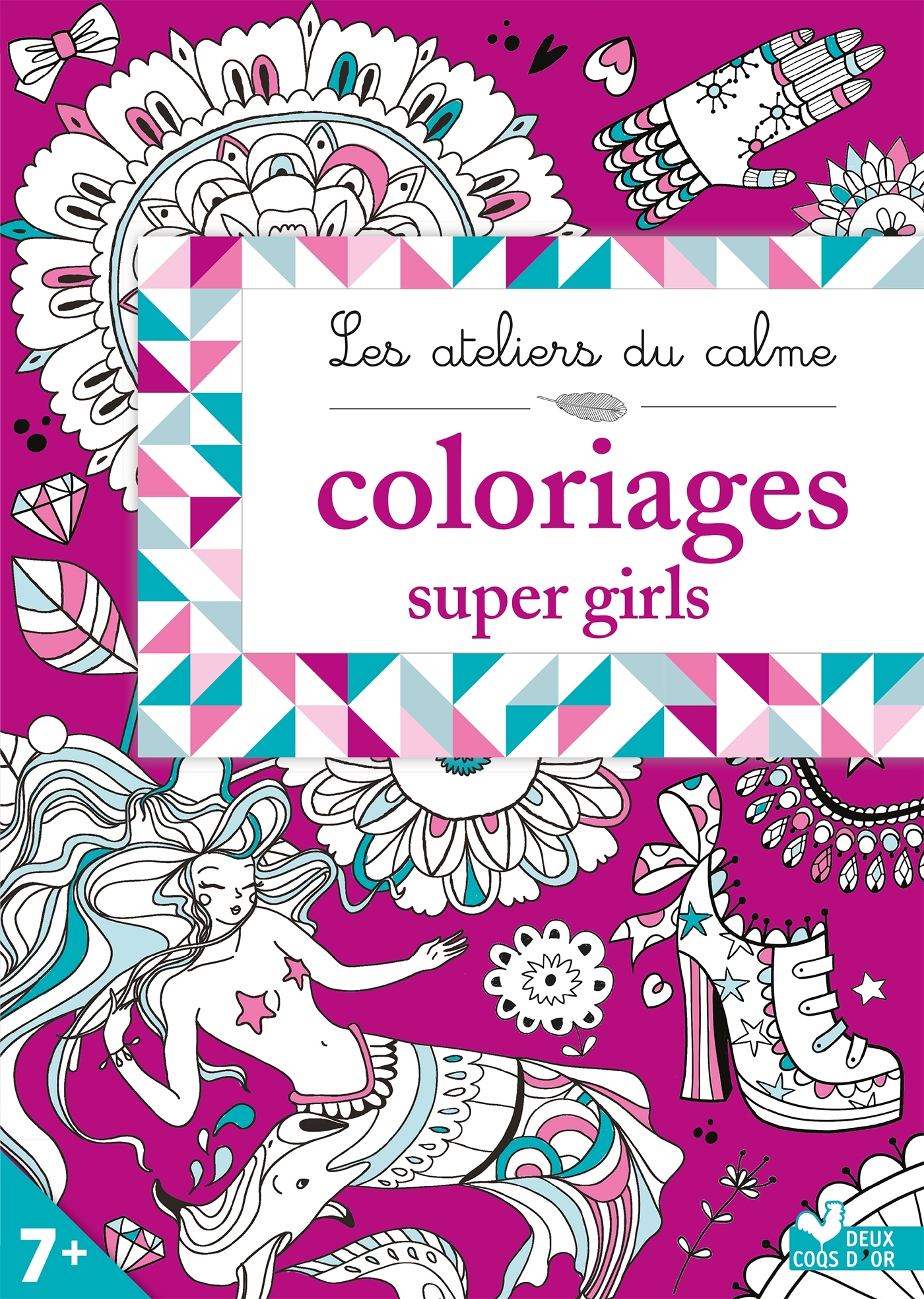 ADC - COLORIAGES SUPER GIRLS