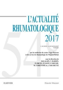 L'ACTUALITE RHUMATOLOGIQUE 2017