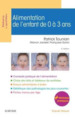 ALIMENTATION DE L'ENFANT DE 0 A 3 ANS 3E