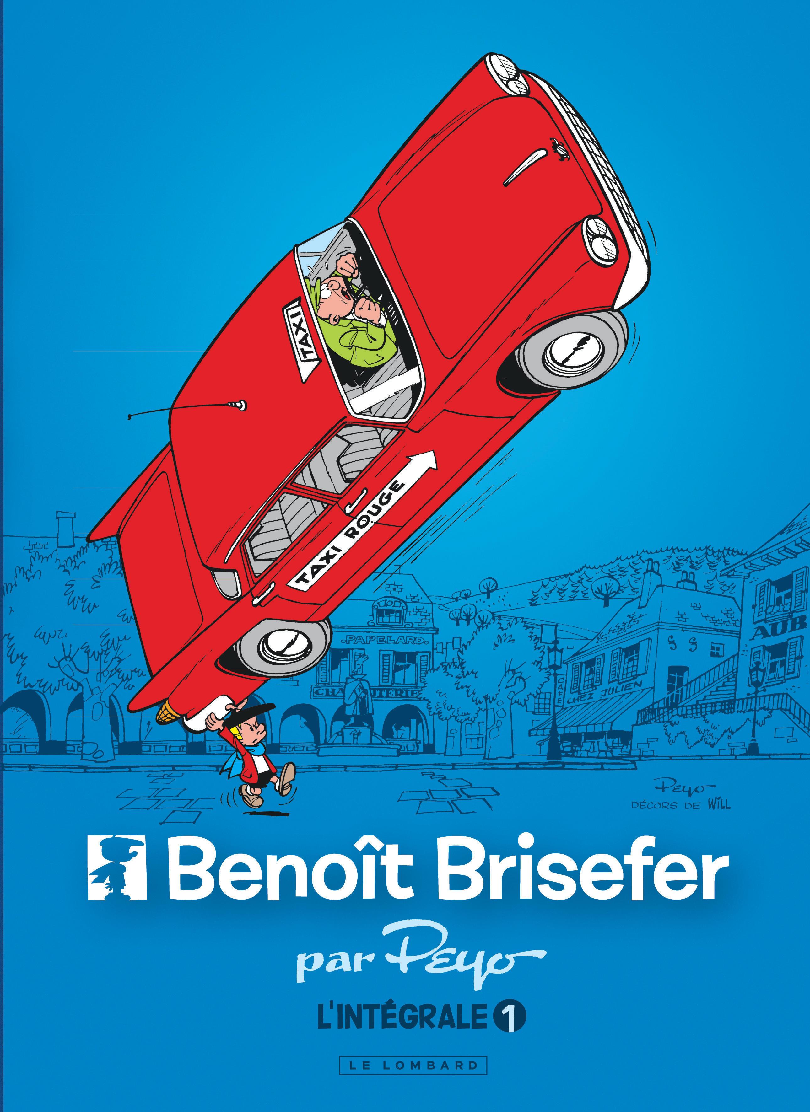 BENOIT BRISEFER T1 INTEGRALE BENOIT BRISEFER 1