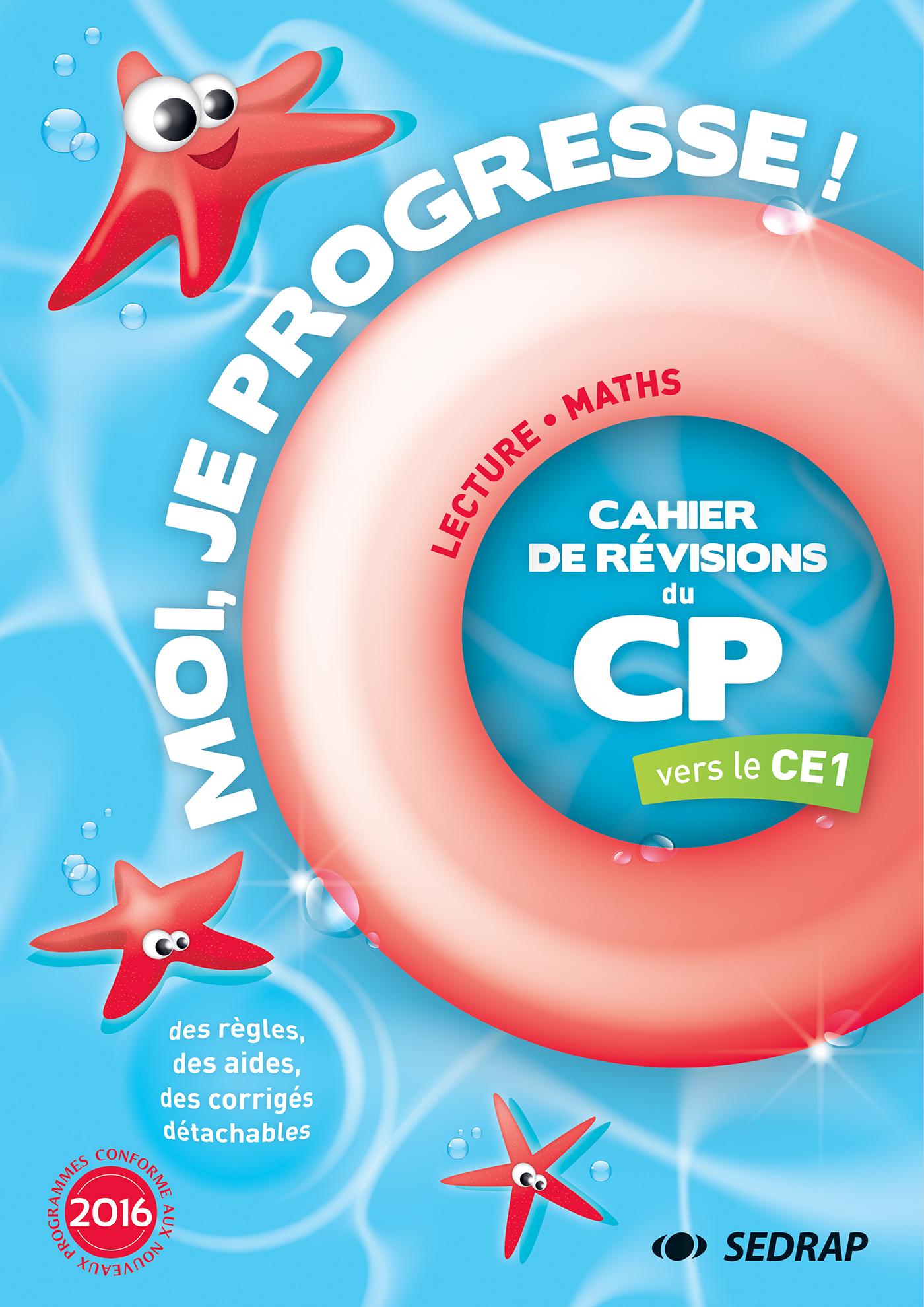 MOI JE PROGRESSE CP - CAHIER DE REVISION