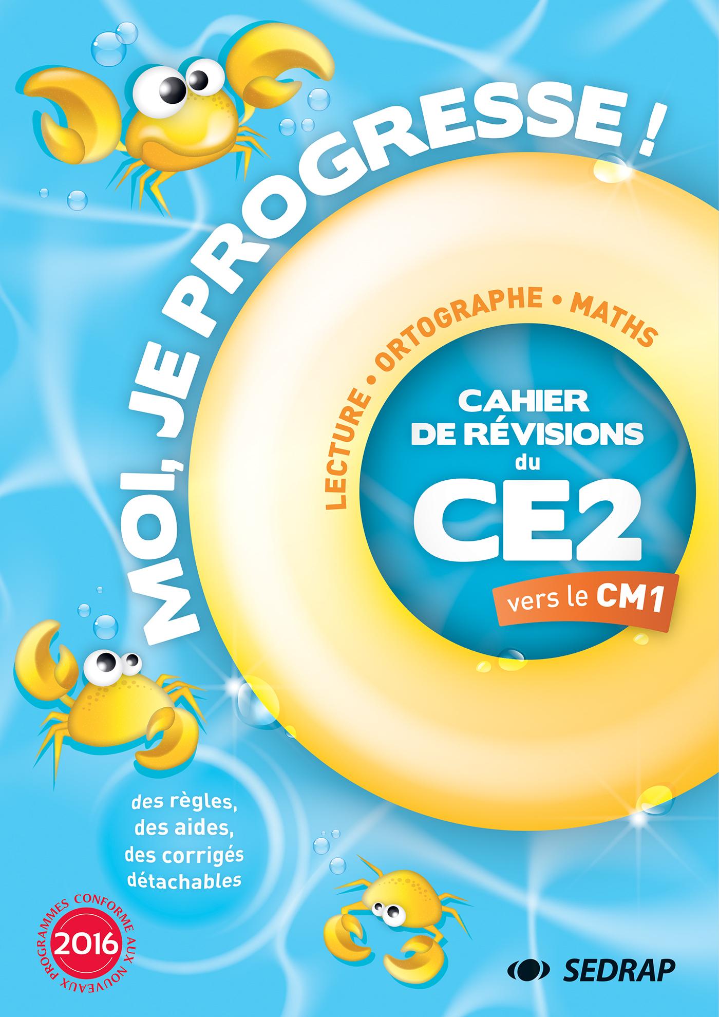 MOI JE PROGRESSE CE2 - CAHIER DE REVISION