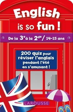 ENGLISH IS SO FUN (DE LA 3E A LA 2E)