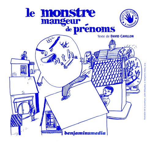 LE MONSTRE MANGEUR DE PRENOMS (+CD +BRAILLE/GK)