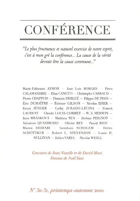 CONFERENCE N30-31