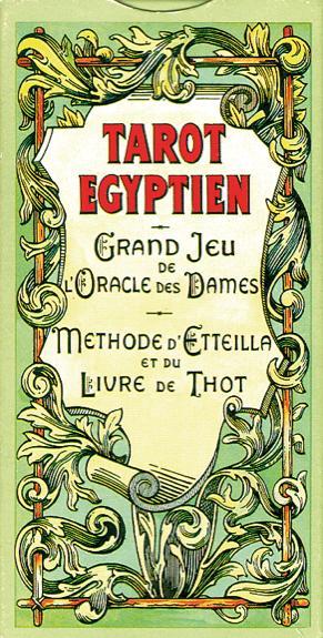 JEU TAROT EGYPTIEN - VERSION BLISTER