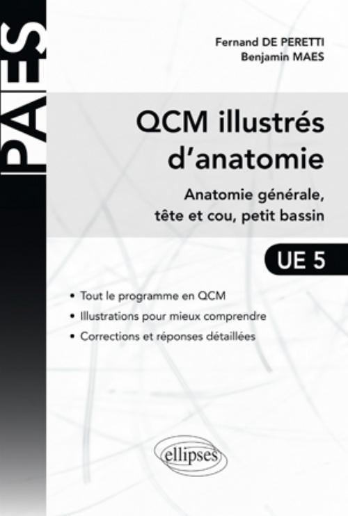 QCM ILLUSTRES D'ANATOMIE ANATOMIE GENERALE TETE ET COU PETIT BASSIN UE5