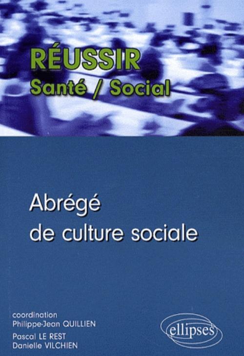 ABREGE DE CULTURE SOCIALE