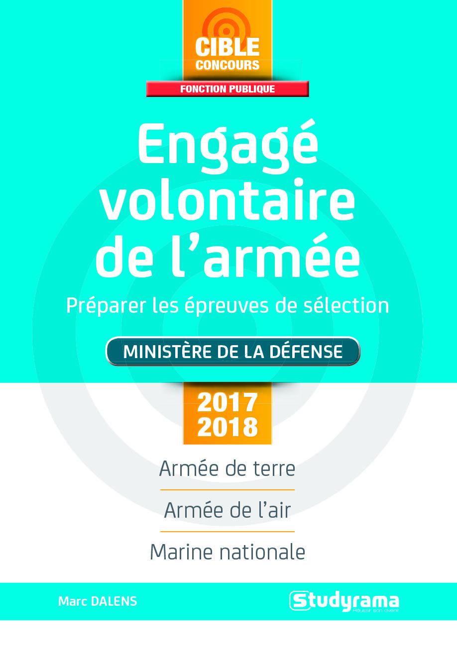 ENGAGE VOLONTAIRE DE L'ARMEE MINISTERE DE LA DEFENSE 2017/2018