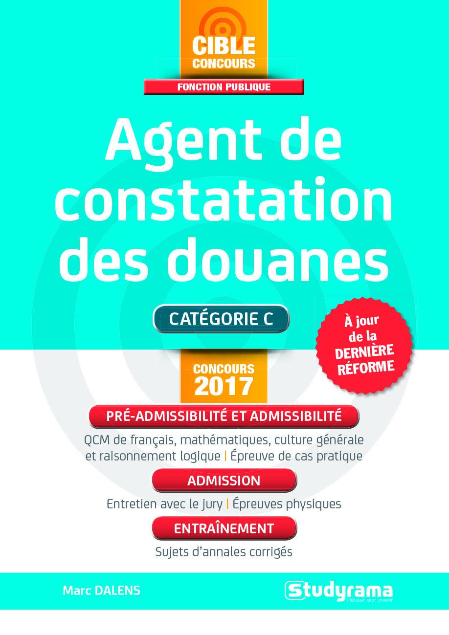 AGENT DE CONSTATATION DES DOUANES CONCOURS