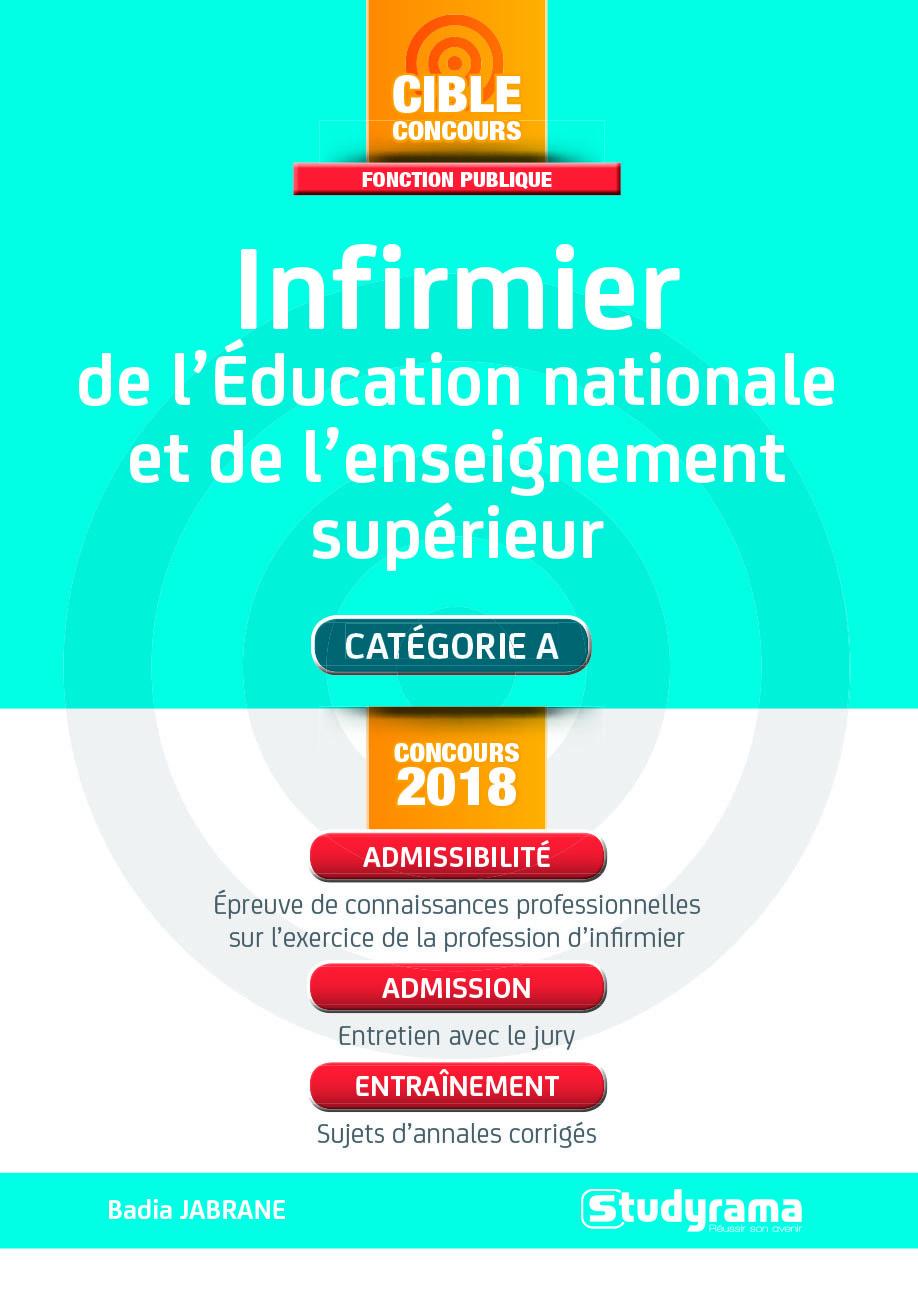 INFIRMIER DE L'EDUCATION NATIONALE ET DE L'ENSEIGNEMENT SUPERIEUR 2018