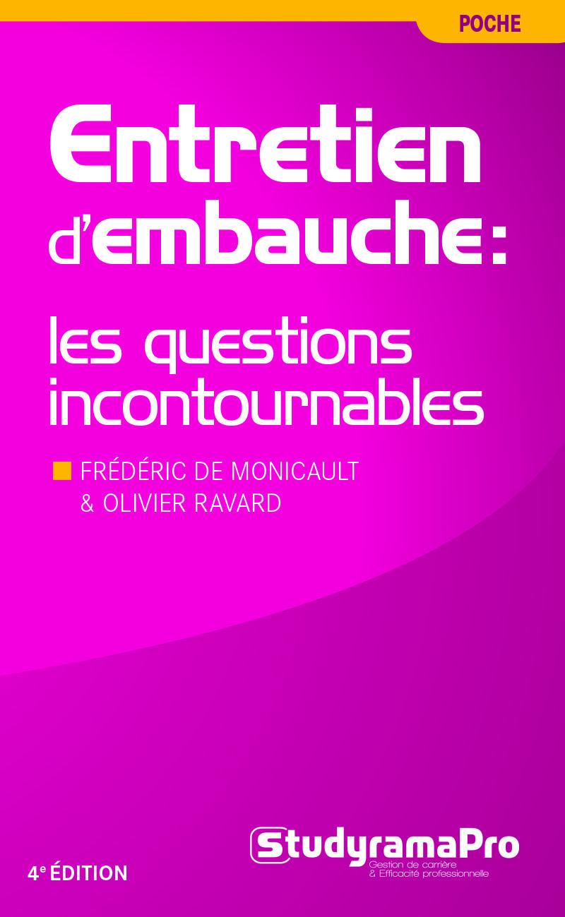 ENTRETIEN D'EMBAUCHE : LES QUESTIONS INCONTOURNABLES