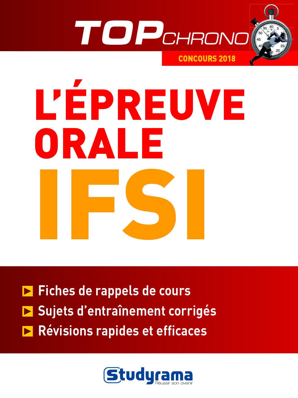 EPREUVE ORALE IFSI (L') 2018