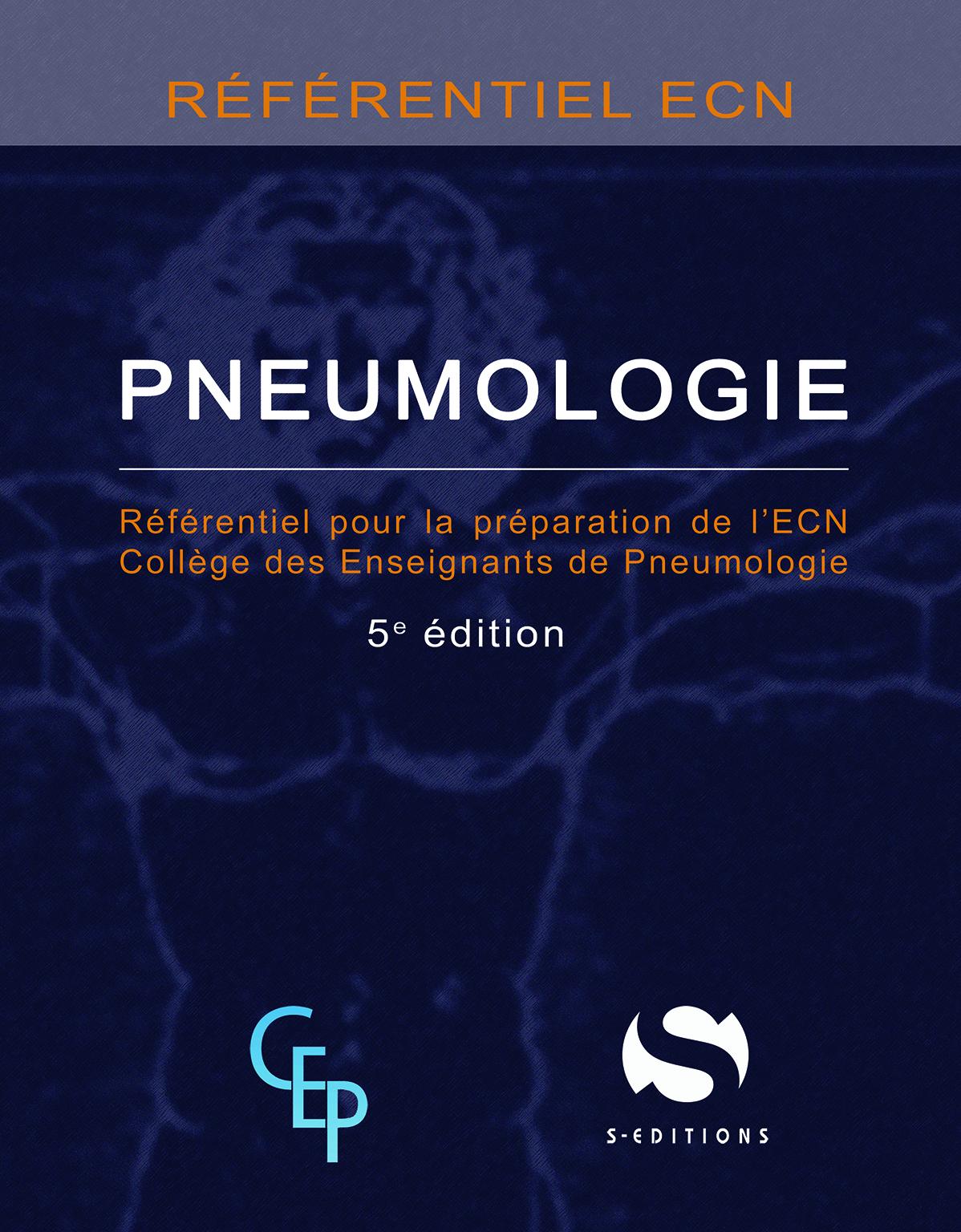 PNEUMOLOGIE REFERENTIEL ECN 5EME EDITION