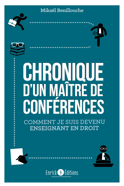 CHRONIQUE D'UN MAITRE DE CONFERENCES