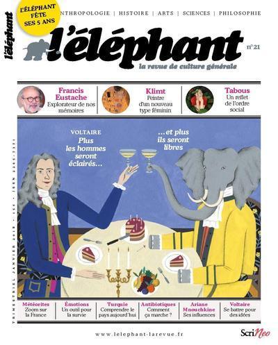 L'ELEPHANT - LA REVUE DE CULTURE GENERALE - NUMERO 21