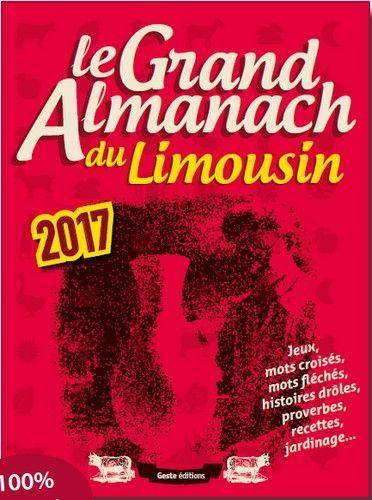 GRAND ALMANACH DU LIMOUSIN 2017